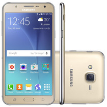 Samsung Galaxy J7 Duos J700m Dourado - Dual Chip, Octa Core