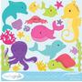 Kit Scrapbook Digital Animais Do Mar Imagens Clipart Cod 2
