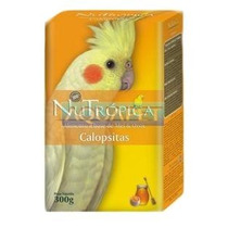 Ração Nutropica Calopsita C/mel,ovos E Frutas 300g