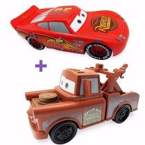 Mcqueen + Mate Roda Livre - Disney Carros Toyng