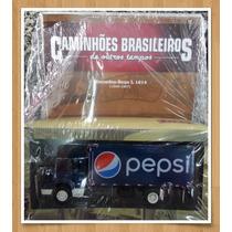 Coleção Caminhões Brasileiros - Ed.25 - Mercedes Benz L 1614