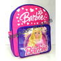 Mochila Escolar Infantil Barbie Com Alças Pequena Menina!