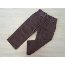 Calça Tigor T Tigre Jeans Baby Marrom
