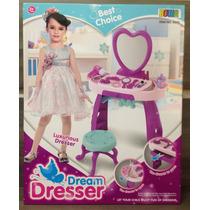 Penteadeira Infantil Princes Dream Dresser + 25 Peças
