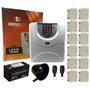 Kit Central De Alarme Residencial + 12 Magnético S/ Fio