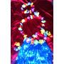 Fantasia Havaiana 60cm A Saia,pulseira,colar,coroa. A Pronta