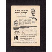 Propaganda Antiga Armas De Fogo H&r Inc - Lt0038