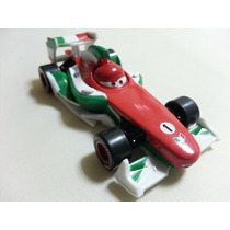 Disney Pixar Cars 2 Francesco Bernoulli Metal Fundido 1:55