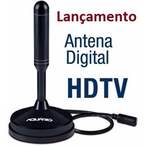 Antena Interna Tv Digital Hdtv Dtv 100 Aquario 100% Original