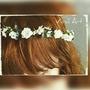 Guirlanda / Coroa De Flores / Arranjo Noiva / Headband Flor