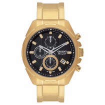 Relógio Orient Masculino Dourado Mgssc014 P1kx