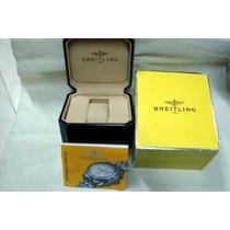 Estojo Para Relógio Breitling Original C/ Documentos