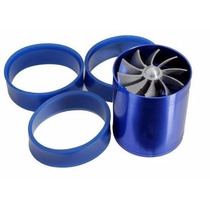 Turbo Supercharger Dual Propeller Dupla Turbina