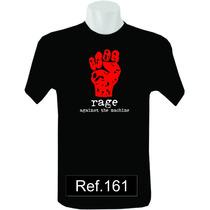 Camiseta Rage Against The Machine Camisas De Bandas Rock