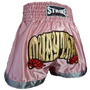 Shorts Muay Thai Kick Boxing New Strike - Feminino Rosa - M