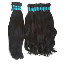 Cabelos Humano Natural 60 Cm 100g Liso Ondulado Mega Hair