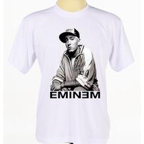 Camisa Camiseta Banda Cantor Hip Hop Rapper Eminem Rap
