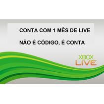 Não É Código Leia A Descrição - Xbox Live Gold 1 Mês