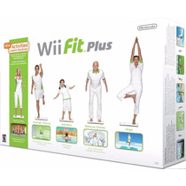 Wii Fit Plus Balance Board Wii + Jogo Original Nintendo