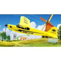 Hl803 Rc Avião 3 Ch Completo Frete Gratis