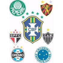 Vetores Estampas Imagens Times Futebol Nacionais Internacio
