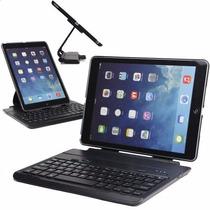 Capa C/ Teclado Yogo Bluetooth Ipad Air 1 Giratória 360