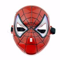Máscara Infantil Vingadores Com Luz Homem Aranha