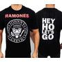 Camiseta De Banda - Ramones - Logo