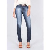 Calça Jeans Skinny Com Cinto Feminina Max Denim - Jeans