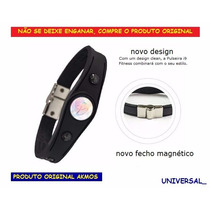 Pulseira Bracelete Akmos Pontos Magnéticos E Terapeutica