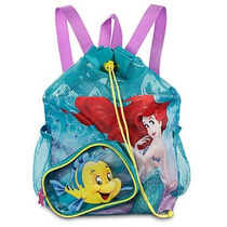 Disney Store Oficial Bolsa Mochila Ariel Pequena Sereia