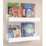 Kit 8 Prateleiras Decorativa Livros Brinquedo Infantil 60cm