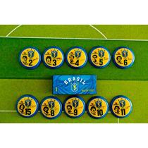 Seleção Brasileira De 1982 - Brasil Futebol De Botão