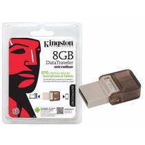 Pendrive Celular Kingston Dtduo 8gb Micro Usb 2.0 Otg