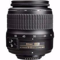 Lente Nikon 18-55mm F3.5-5.6g Ed Ii Af-s Dx Zoom-nikkor Auto