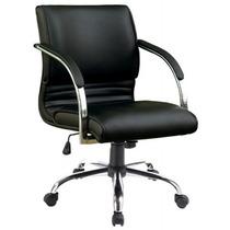 Cadeira Para Escritório Veneto Diretor Giratória Preta