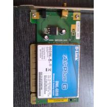 Placa Wireless Pci D-link Air Plus Dwl-g510 Nova, Sem Antena