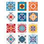 Adesivo  Para Azulejos  12 Unidades 20x20cm