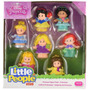 Little People Princesas - Cinderela Jasmine Ariel Bela +3