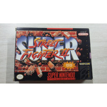 Super Street Fighter 2 - Impecável - Completa U S A - A+++