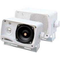 Pyle-car Audio/video Plmr24 Pyle 3.5in 200w 3-way Minibox