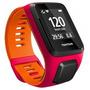 Relógio Gps Tomtom Runner 3 Cardio Pulso Rosa/laranja