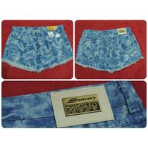 Lote Com 4 Saias Sawary Jeans Atacado