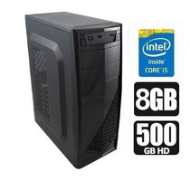 Pc Cpu Computador Intel Core I5 3.10ghz + 500 Hd + 8gb+win 7