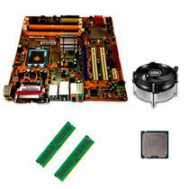 Kit Intel Lga 775 + E7400 + Placa Mae + Cooler + 4gb Ddr2