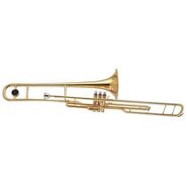 Trombone Dolphin Laqueado Pisto Loja Cheiro De Musica !!