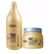 Loréal Absolut Repair Cellular Shampoo E Máscara Importado