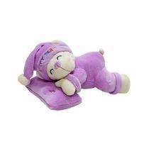 Pelúcia Urso Amigo Do Sono Com Travesseiro - Lilás