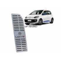 Descanso De Pé Personalizado Em Aço Inox Volkswagen Up Tsi