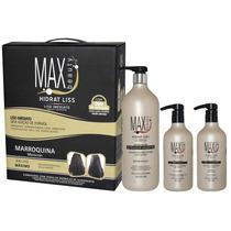 Hidrat Liss Marroquina Escova Progres Sem Formol Max Beauty
